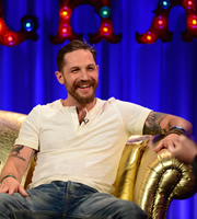 Alan Carr: Chatty Man. Tom Hardy. Copyright: Open Mike Productions.