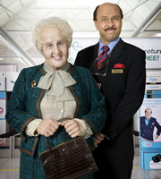 Hetty and Moses. Image shows from L to R: Matt Lucas, David Walliams. Copyright: Little Britain Productions / BBC.