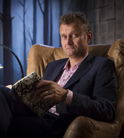 Crackanory. Hugh Dennis. Copyright: Tiger Aspect Productions.
