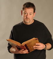 Crackanory. Johnny Vegas. Copyright: Tiger Aspect Productions.