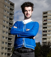 Dave's One Night Stand. Jack Whitehall. Image credit: Amigo Television.