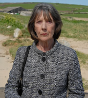 Doc Martin. Aunt Ruth Ellingham (Eileen Atkins). Copyright: Buffalo Pictures / Homerun Productions.
