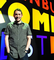 Edinburgh Comedy Fest Live. Jon Richardson. Copyright: Open Mike Productions.