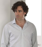 Episodes. Sean Lincoln (Stephen Mangan). Image credit: Hat Trick Productions.
