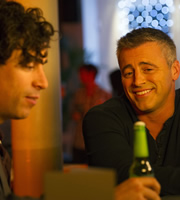 Episodes. Image shows from L to R: Sean Lincoln (Stephen Mangan), Matt LeBlanc (Matt LeBlanc). Copyright: Hat Trick Productions / BBC.