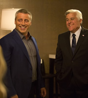 Episodes. Image shows from L to R: Matt LeBlanc (Matt LeBlanc), Jay Leno. Copyright: Hat Trick Productions / BBC.