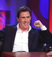 Friday Night With Jonathan Ross. Rob Brydon. Copyright: Hot Sauce.