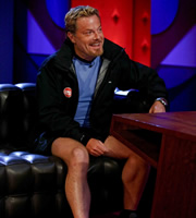 Friday Night With Jonathan Ross. Eddie Izzard. Copyright: Hot Sauce.