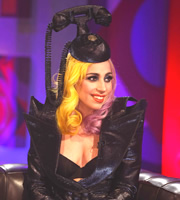 Friday Night With Jonathan Ross. Lady Gaga. Copyright: Hot Sauce.