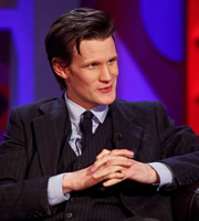 Friday Night With Jonathan Ross. Matt Smith. Copyright: Hot Sauce.