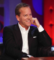 Friday Night With Jonathan Ross. Kiefer Sutherland. Copyright: Hot Sauce.