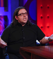Friday Night With Jonathan Ross. Nick Frost. Copyright: Hot Sauce.