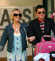 Gavin & Stacey. Image shows from L to R: Stacey (Joanna Page), Gavin (Mathew Horne). Copyright: Baby Cow Productions.