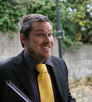 Gavin & Stacey. Estate Agent (Marc Wootton). Copyright: Baby Cow Productions.