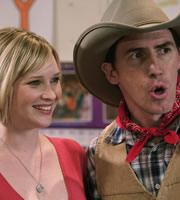 Gavin & Stacey. Image shows from L to R: Stacey (Joanna Page), Bryn (Rob Brydon). Copyright: Baby Cow Productions.