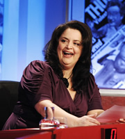 Have I Got News For You. Ruth Jones. Copyright: BBC / Hat Trick Productions.