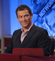 Have I Got News For You. Dominic West. Copyright: BBC / Hat Trick Productions.