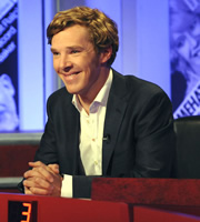 Have I Got News For You. Benedict Cumberbatch. Copyright: BBC / Hat Trick Productions.
