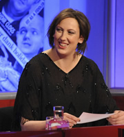 Have I Got News For You. Miranda Hart. Copyright: BBC / Hat Trick Productions.