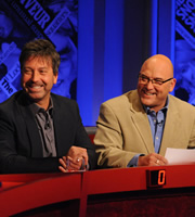 Have I Got News For You. Image shows from L to R: John Torode, Gregg Wallace. Copyright: BBC / Hat Trick Productions.