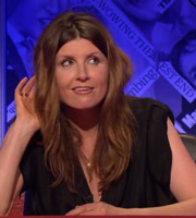 Have I Got News For You. Sharon Horgan. Copyright: BBC / Hat Trick Productions.