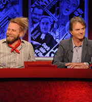 Have I Got News For You. Image shows from L to R: Tony Law, Paul Merton. Copyright: BBC / Hat Trick Productions.