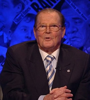 Have I Got News For You. Roger Moore. Copyright: BBC / Hat Trick Productions.
