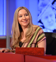 Have I Got News For You. Victoria Coren Mitchell. Copyright: BBC / Hat Trick Productions.