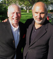 Imagine: The Art Of Stand-Up. Image shows from L to R: Mel Brooks, Alan Yentob. Copyright: BBC.
