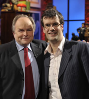 I've Never Seen Star Wars. Image shows from L to R: Clive Anderson, Marcus Brigstocke. Copyright: BBC.
