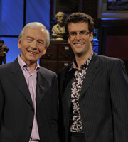 I've Never Seen Star Wars. Image shows from L to R: John Humphrys, Marcus Brigstocke. Copyright: BBC.