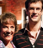 I've Never Seen Star Wars. Image shows from L to R: Esther Rantzen, Marcus Brigstocke. Copyright: BBC.