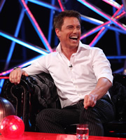 The Justin Lee Collins Show. John Barrowman. Copyright: Objective Productions.