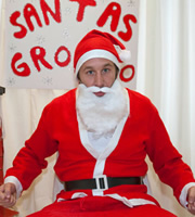 Little Crackers. Santa (Chris O'Dowd).