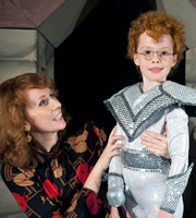 Little Crackers. Image shows from L to R: Josephine (Catherine Tate), Young Catherine (Madeleine Power).