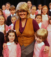 Little Crackers. Miss Foley (Sally Lindsay).