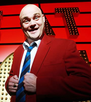 Live At The Apollo. Al Murray. Copyright: Open Mike Productions.