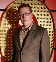 Live At The Apollo. Frankie Boyle. Copyright: Open Mike Productions.