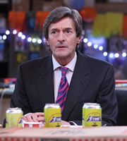 Lunch Monkeys. Mike Cranford (Nigel Havers). Copyright: Channel K / BBC.