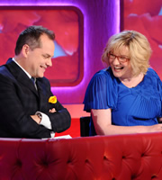 The Marriage Ref. Image shows from L to R: Jack Dee, Sarah Millican. Copyright: Zeppotron.