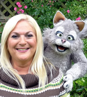 Mongrels. Image shows from L to R: Vanessa Feltz, Marion. Copyright: BBC.