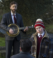 Moone Boy. Image shows from L to R: Sean Murphy (Chris O'Dowd), Martin (David Rawle). Copyright: Baby Cow Productions / Sprout Pictures.