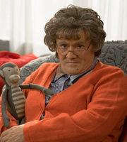 Mrs. Brown's Boys. Agnes Brown (Brendan O'Carroll). Copyright: BBC / BocPix.