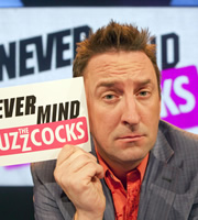 Never Mind The Buzzcocks. Lee Mack. Copyright: TalkbackThames / BBC.