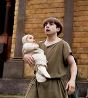 Plebs. Grumio (Ryan Sampson). Copyright: RISE Films.