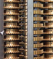 London Science Museum's replica difference engine, built from Babbage's design.