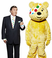 Children In Need. Terry Wogan. Copyright: TalkbackThames.
