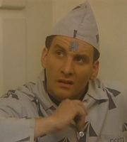 Red Dwarf. Rimmer (Chris Barrie). Copyright: Grant Naylor Productions / BBC.