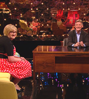 The Sarah Millican Television Programme. Image shows from L to R: Sarah Millican, Michael Palin. Copyright: So Television / Chopsy Productions.