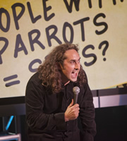 Set List: Stand-Up Without A Net. Ross Noble. Copyright: Princess Productions / Susquehanna Hats.